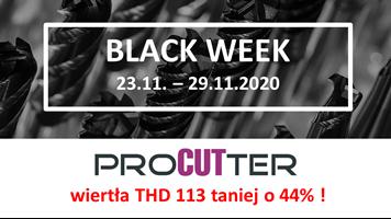 Black week - w promocji wiertła ProCUTter